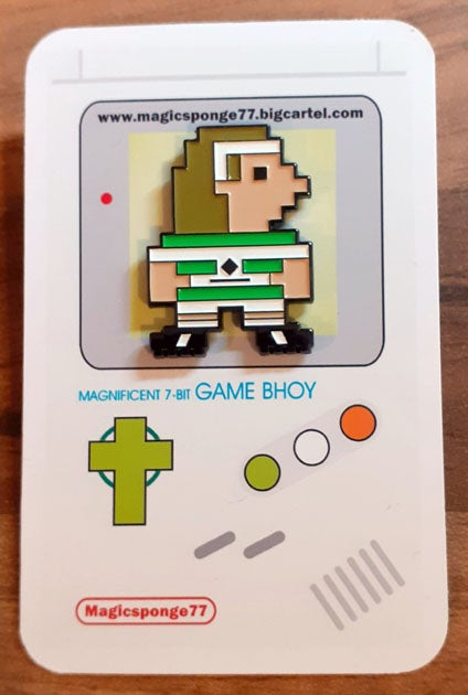 Image of (PRE ORDER) Super Henrik - Magnificent 7-Bit Pin