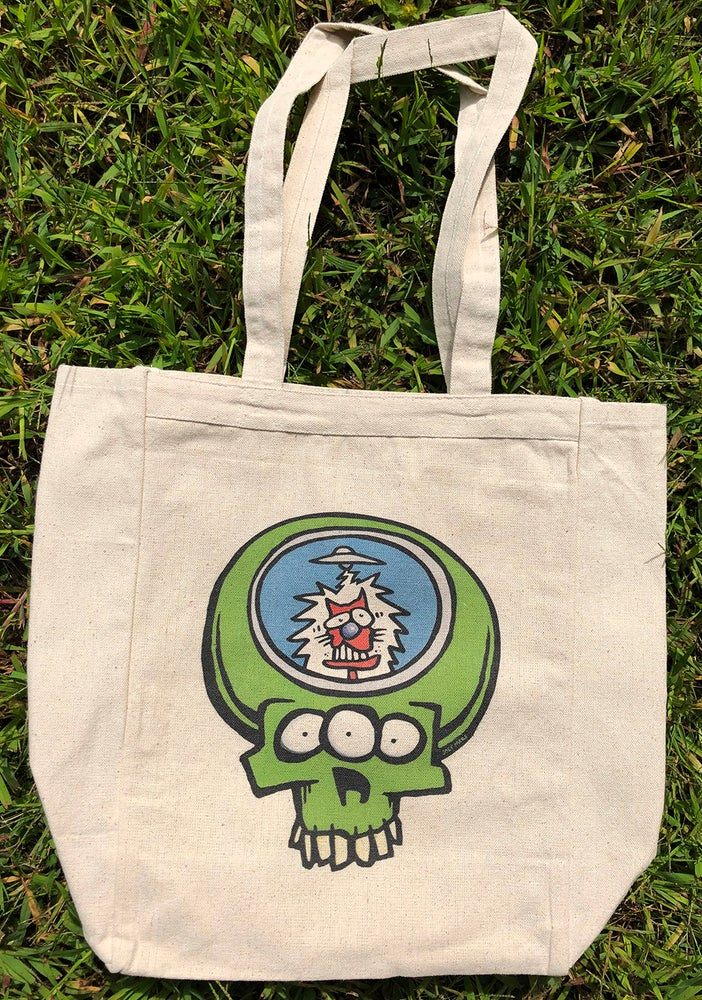 Image of Stealie Encounter Tote Bag