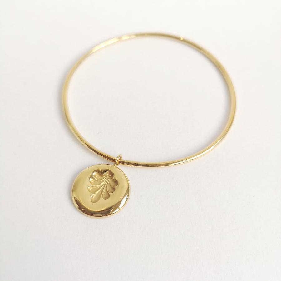 Image of Collection Talisman - Bracelet palme (édition limitée)