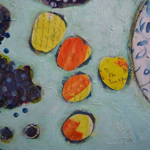 Image of Contemporary Painting, 'Let me Have Juicy Autumnal Fruits,' Poppy Ellis