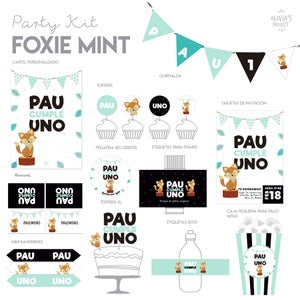 Image of Party Kit Foxie Impreso