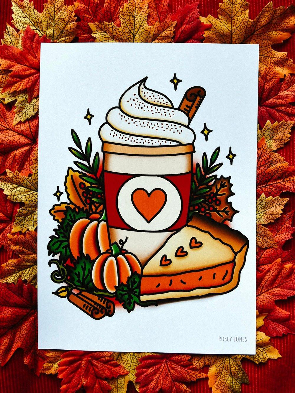 Image of Print Pumpkin Spice