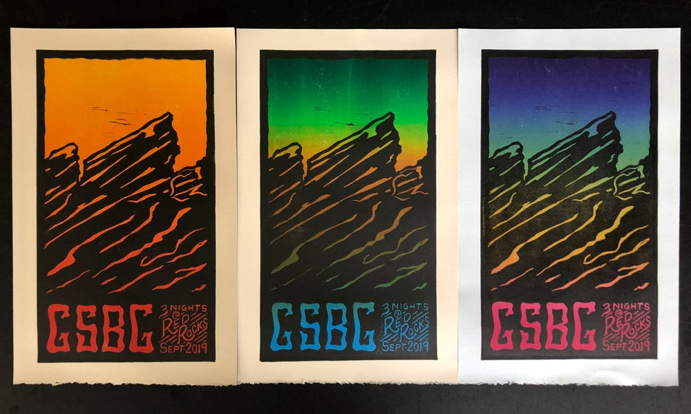 Image of GSBG Red Rocks prints