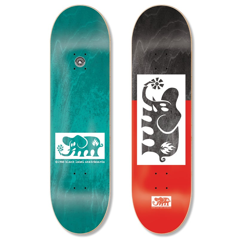 "Image of Elephant ""Block Out"" 8.25"" deck"