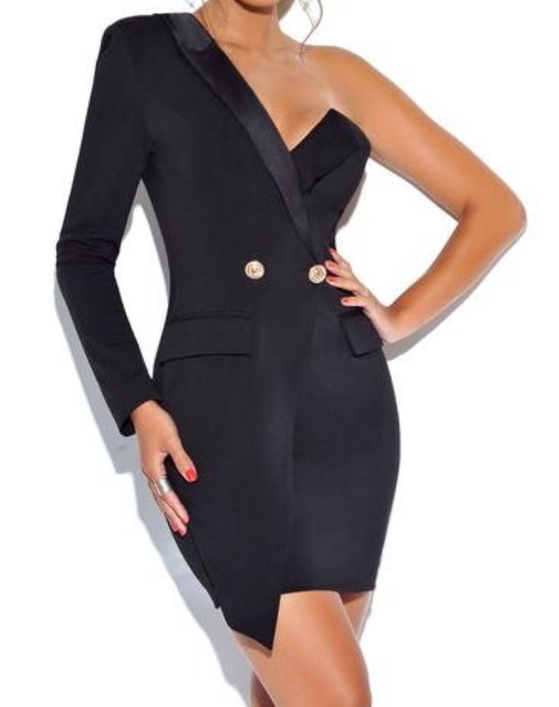 Image of Gwen Blazer Dress