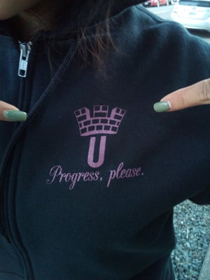 Image of EQUIP zip-up hoodie