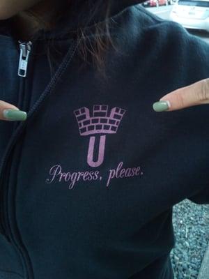 Image of EQUIP zip-up hoodie