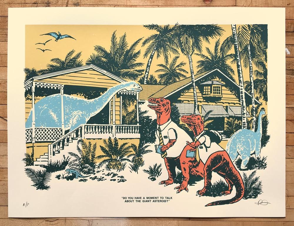 Image of 'Asteroid' Art Print