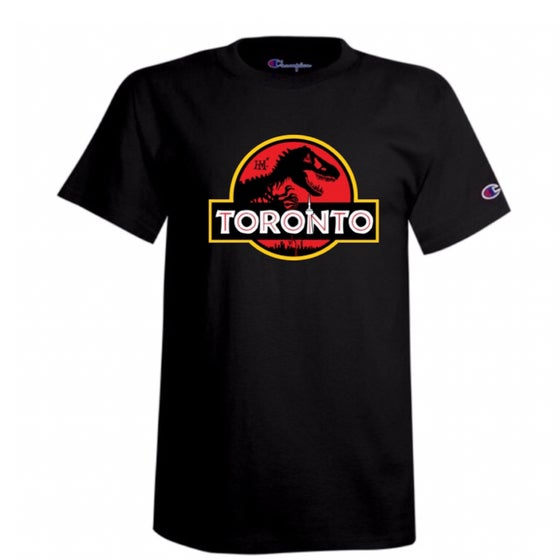 Image of Jurassic Park Champion T-Shirt