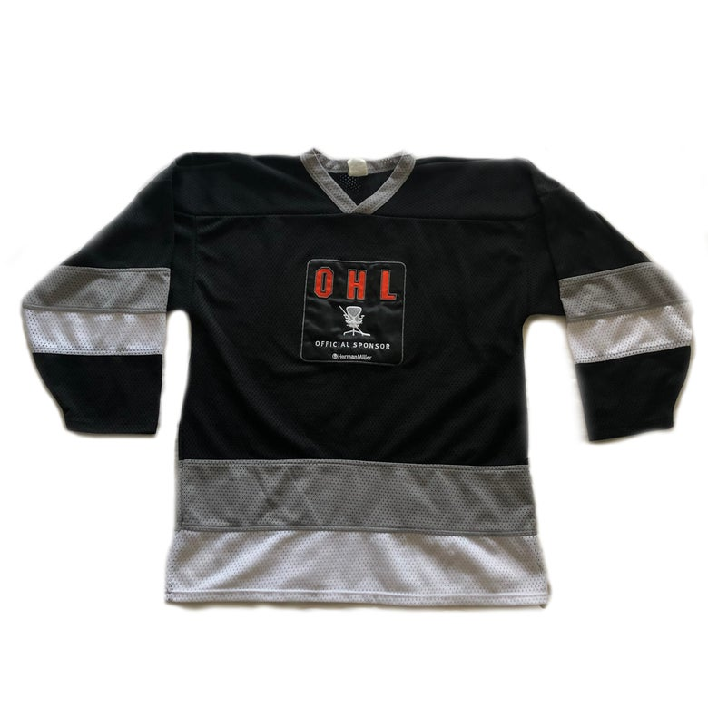 Image of Herman Miller OHL Hockey Jersey Size Large