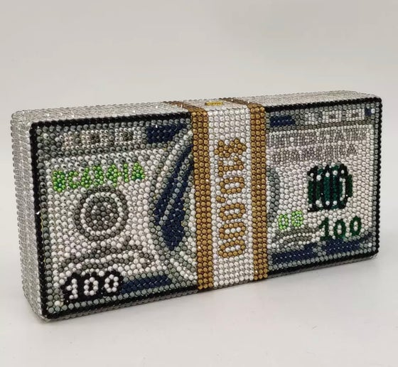 Image of Show Me The Money Clutch