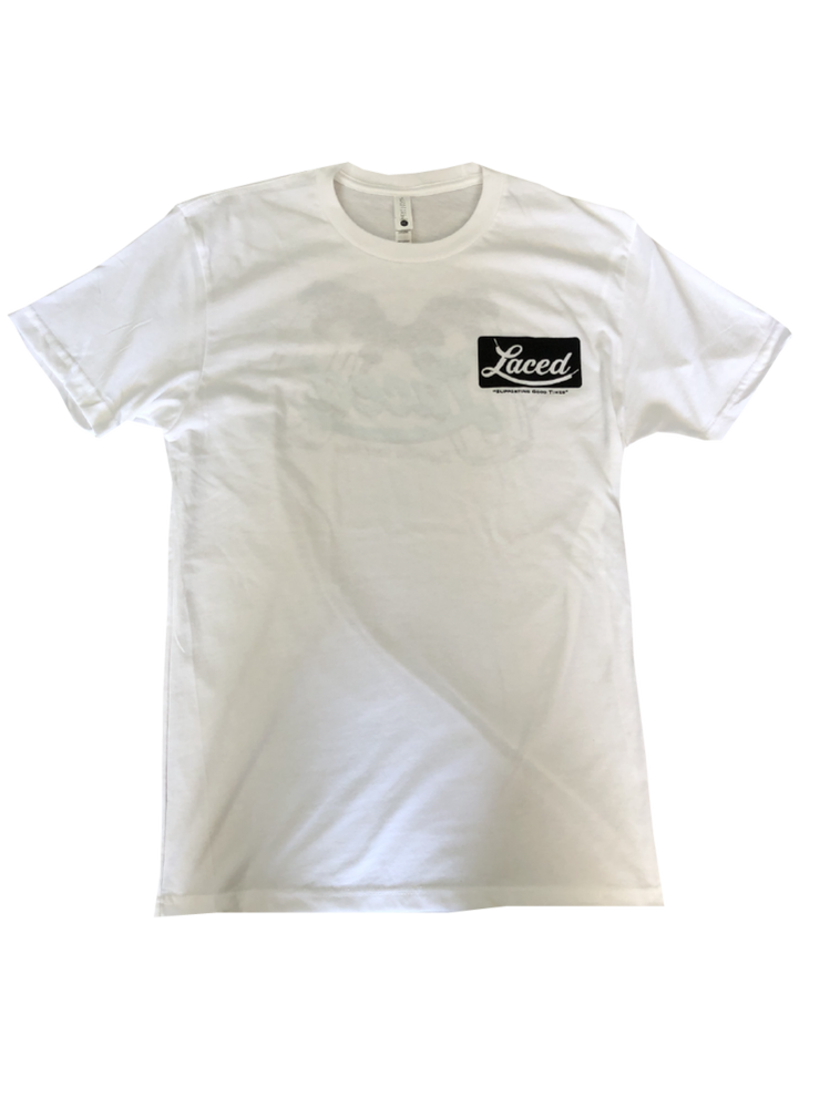 Image of White Beers Tee Laced Belt Brand