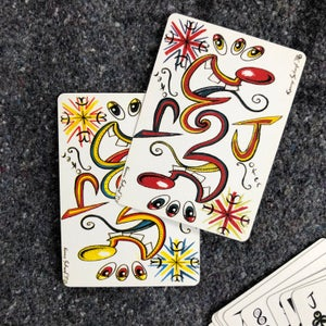 Image of Kenny Scharf Playing Card Deck