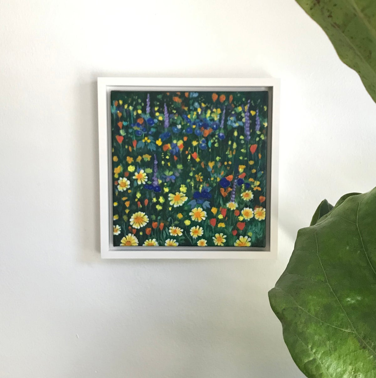 Image of Where the Wild Things Grow Painting