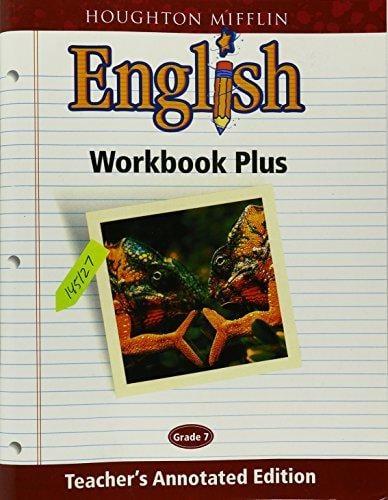 Image of Grade 7-Teachers Edition Houghton Mifflin English