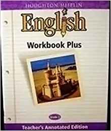 Image of 8th Grade Teachers Edition Houghton Mifflin English