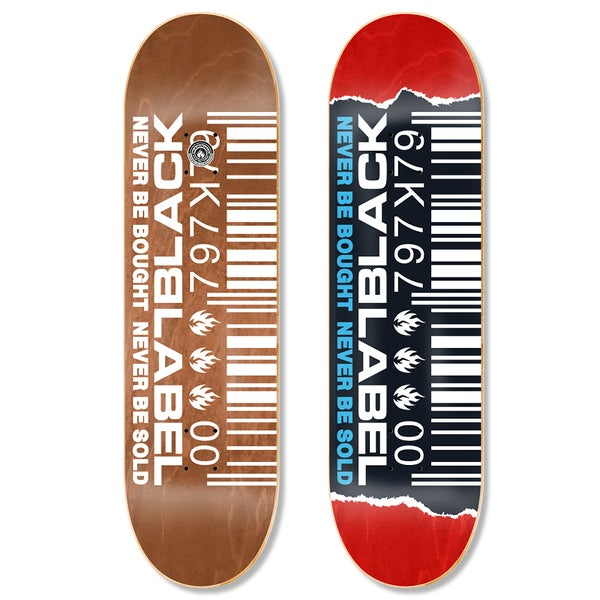 "Image of Ripped Barcode 8.8"" deck"