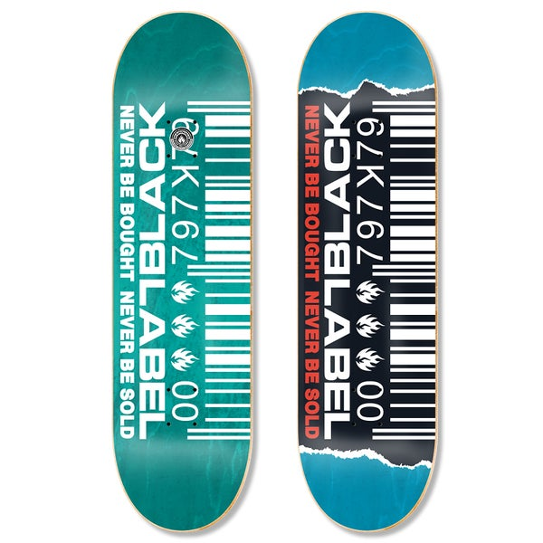 "Image of Ripped Barcode 8.5"" deck"