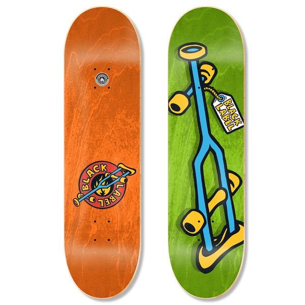 "Image of OG Crutch 8.25"" Blue Crutch deck"
