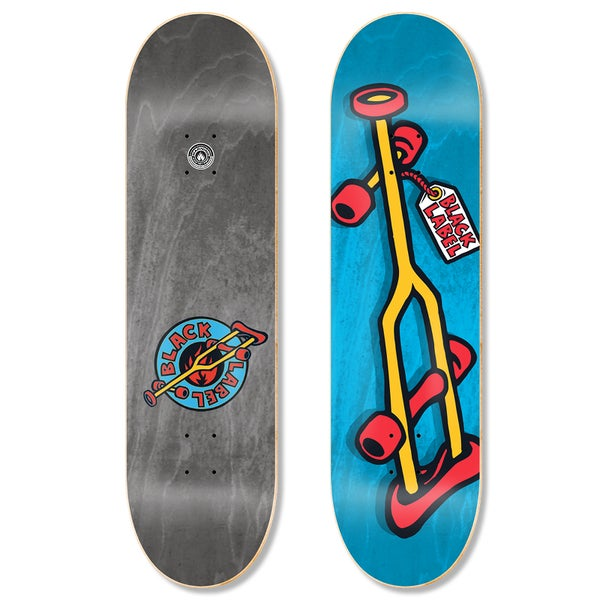 "Image of OG Crutch 8.5"" Yellow Crutch deck"