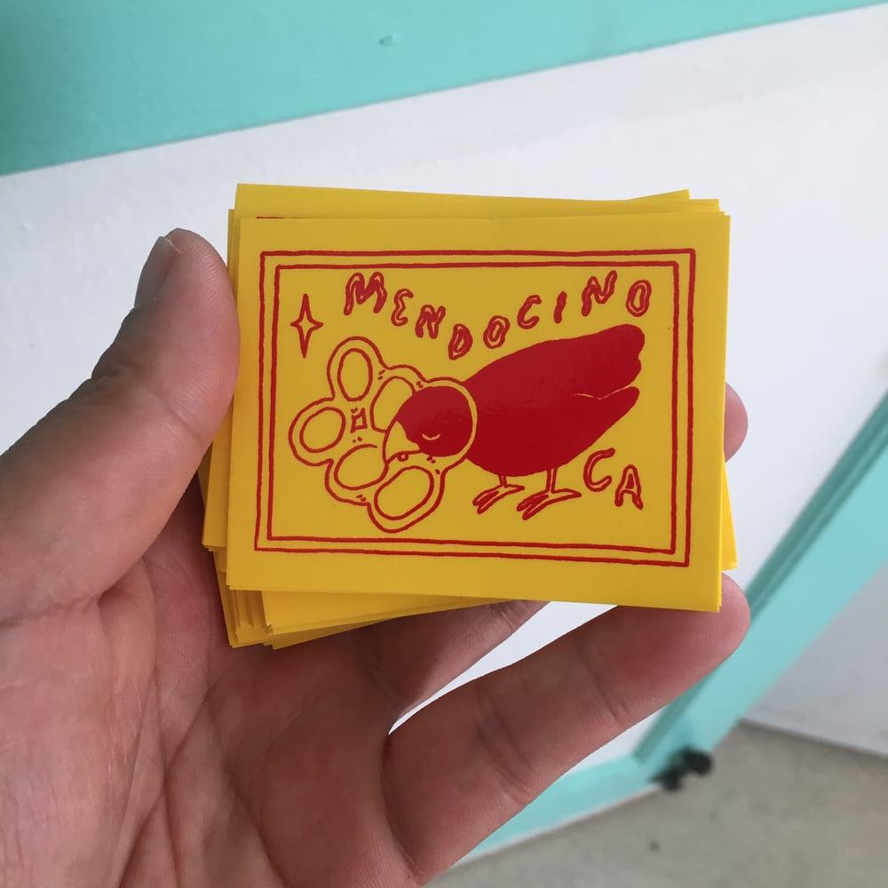 Image of Mendocino Sticker