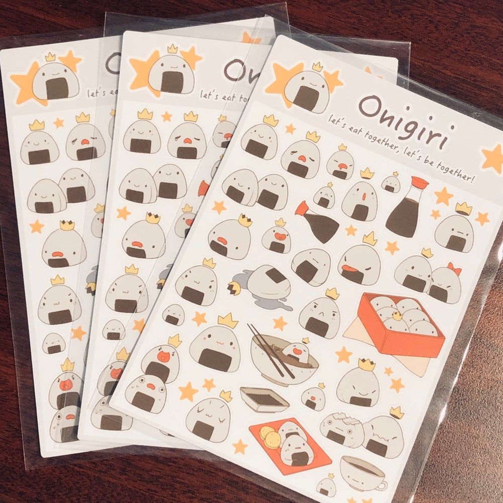 Image of Onigiri Stickers