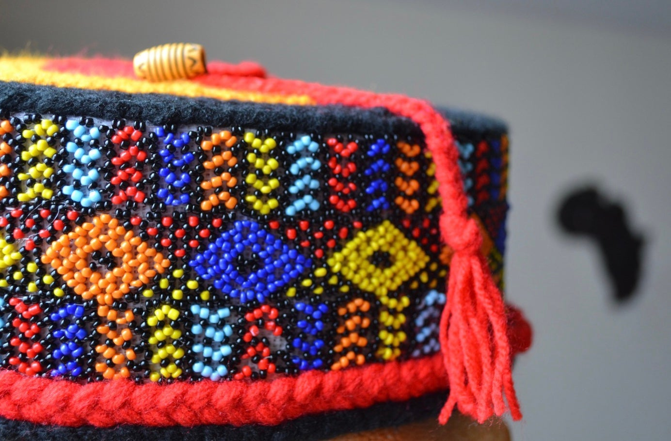 Image of INDAMIX Beaded Hat