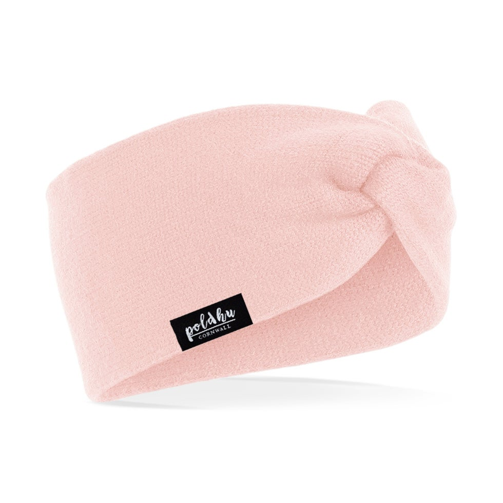 Image of PINK TWISTKNIT HEADBAND