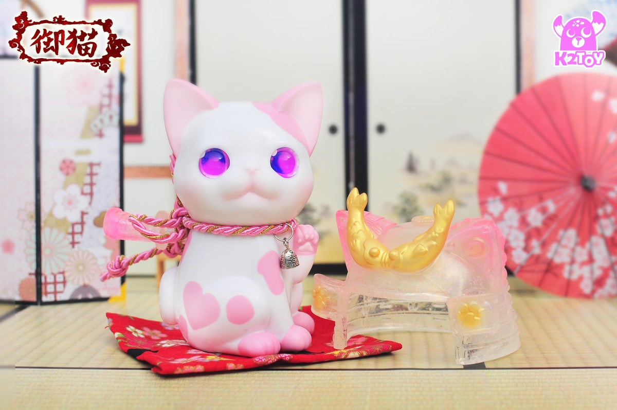 Image of Ohonneko Strawberry Milk - 御貓草莓牛奶