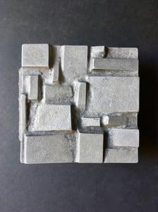 Image of Brutalist Aluminium Door Handle, Mid-20th Century European
