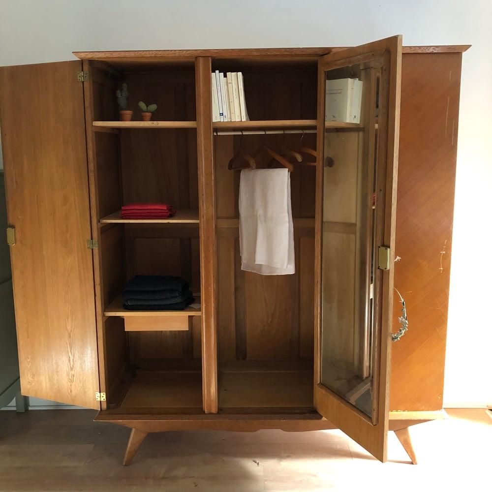 Image of Léopoldine, grande armoire vintage