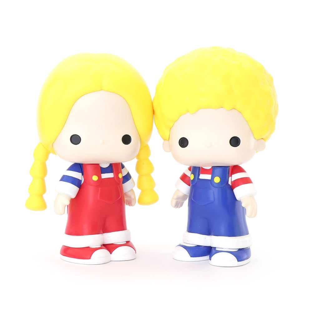 Image of PATTY & JIMMY SANRIO SOFT VINYL SERIES TWO FIGURE SET