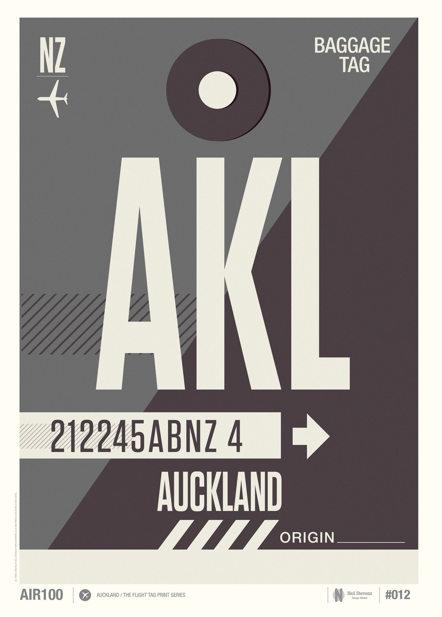 Image of Auckland  (Sale/Return)
