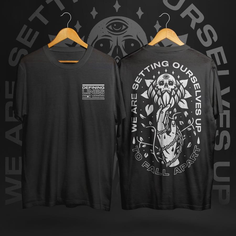 Image of Fall Apart - Black T-Shirt