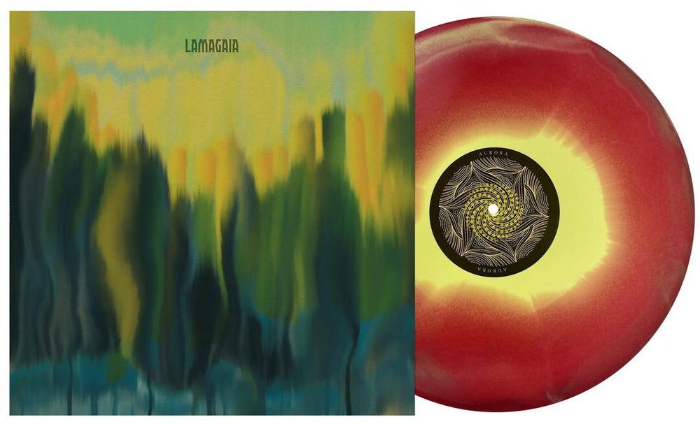 Image of Lamagaia - S/T (3 Colour Starburst Vinyl,Gloss Lam Sleeve, Colour Insert) CARDINAL FUZZ 18 LEFT