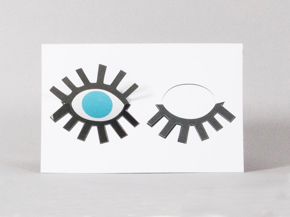 Image of 2x Blink Blink Eye Cards