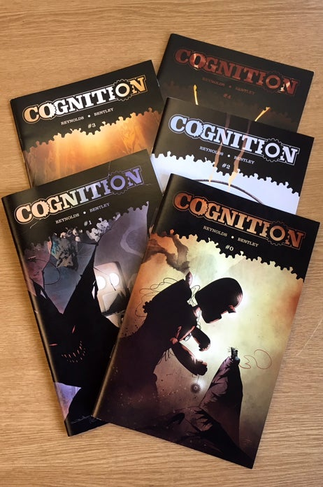 Image of Cognition Complete 5 issue set (1st Arc)