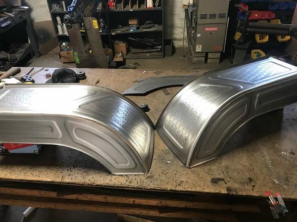 Image of Custom Inner Fenders