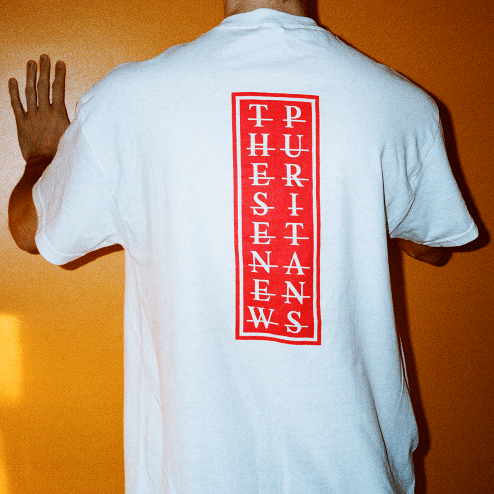 Image of WHITE TNP T-SHIRT