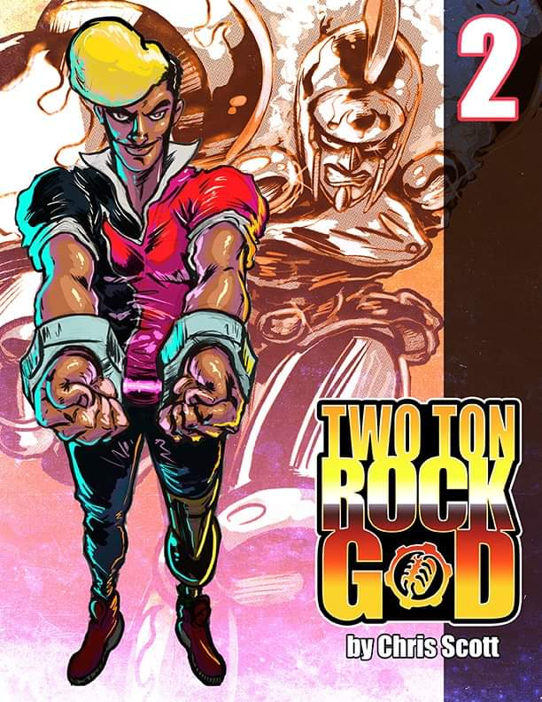 Image of TWO TON ROCK GOD #2 PRINTED EDITION