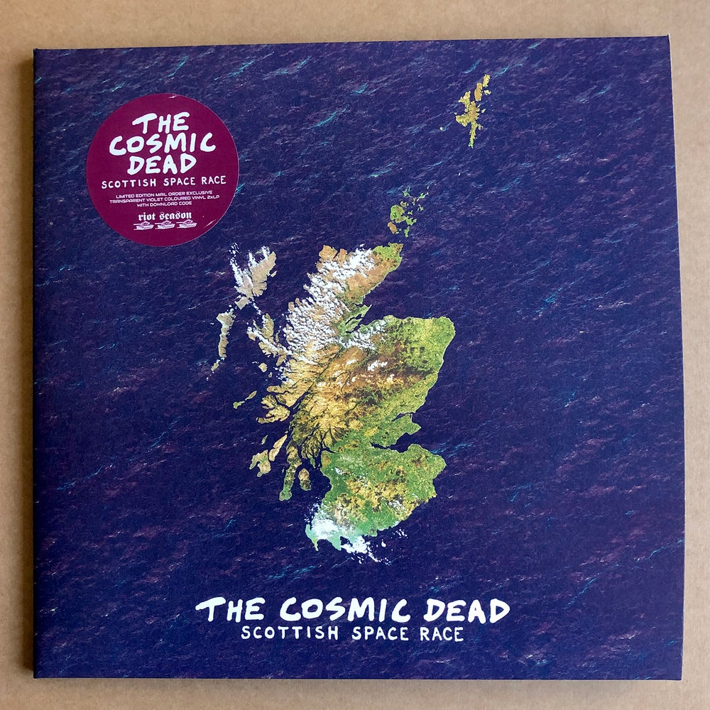 THE COSMIC DEAD 'Scottish Space Race' Violet 2xLP * Exclusive Colour *
