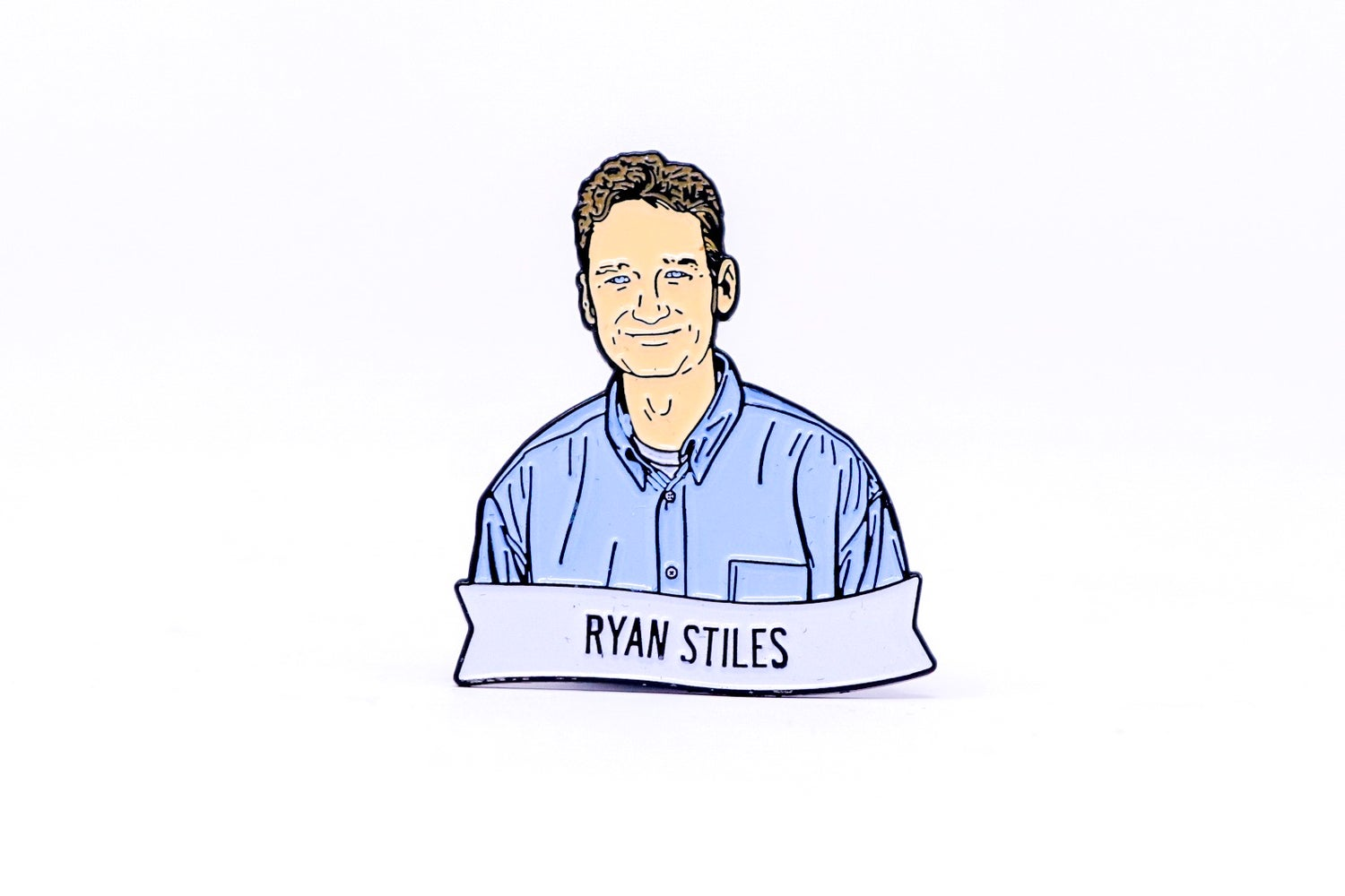 Image of Ryan Stiles Enamel Pin