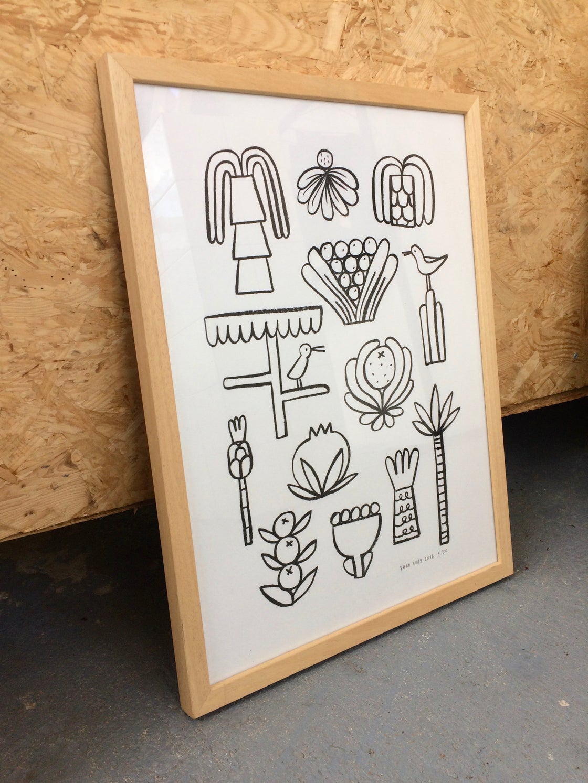 Image of Fruit & Flora | Risoprint