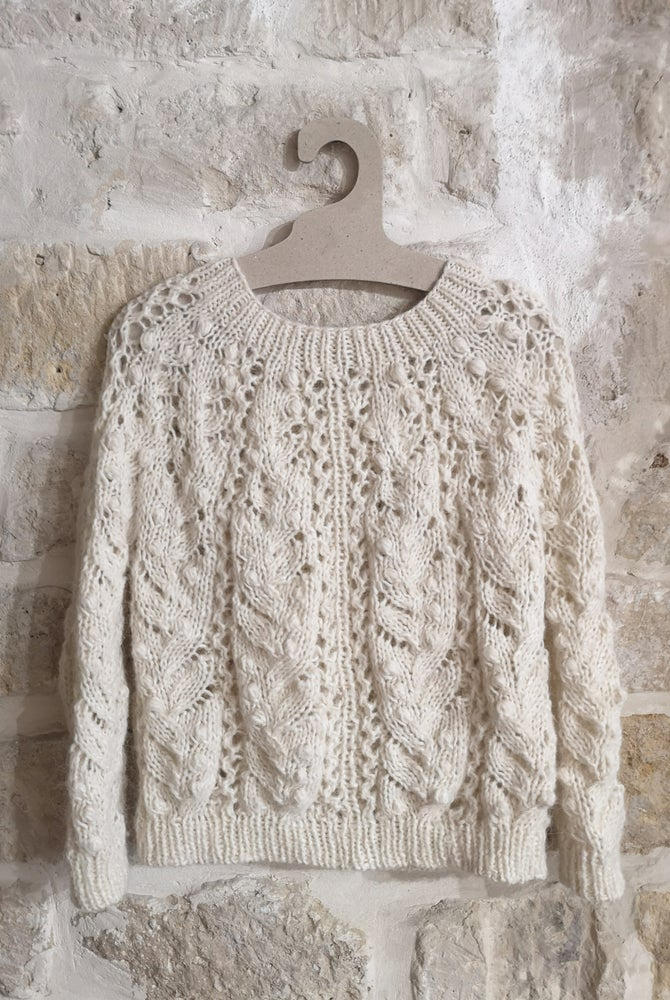 Image of -- PATRON/PATTERN : MUGUET SWEATER --