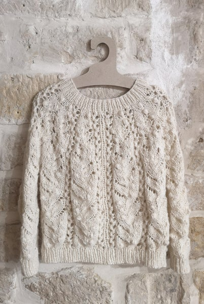 Image of -- PATRON/PATTERN : MUGUET SWEATER FR & ENG --