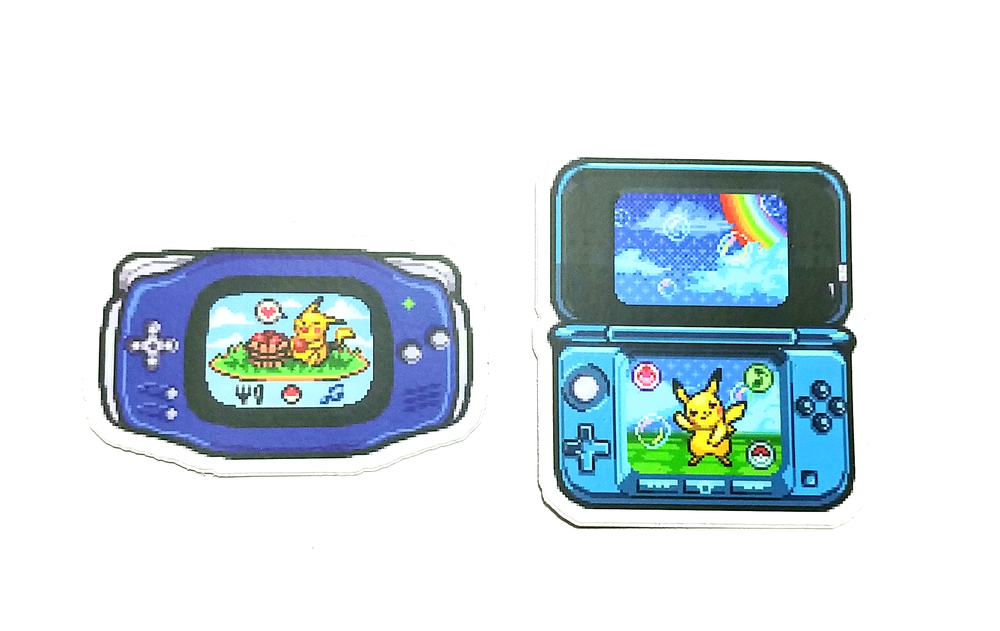 Image of Pocket Pikachu stickers