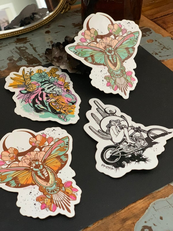 Image of Sticker pack x 4