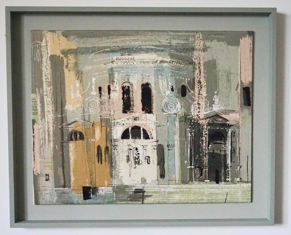 Image of 20/220 john piper / chiesa della salute fabric panel