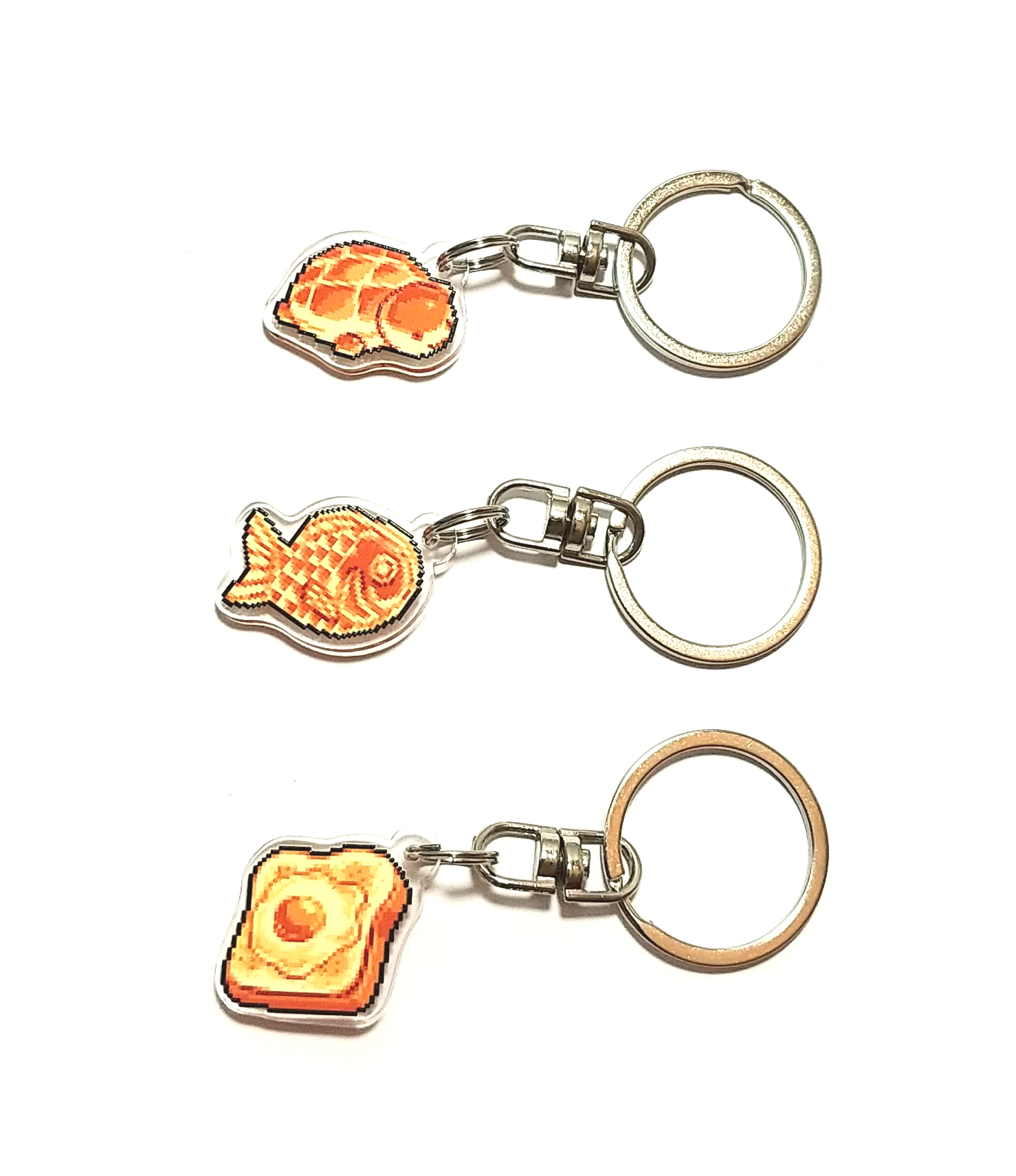 Image of Bread Keychains