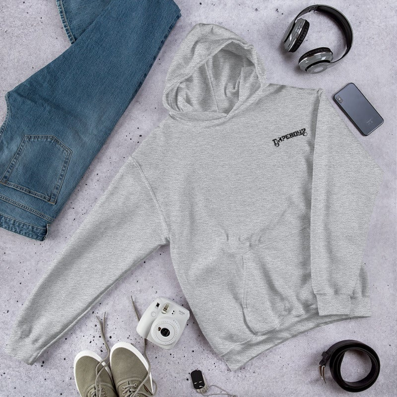Image of THE ESSENTIAL GREY HOODIE